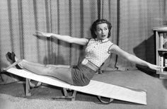 0 sports Jeanne Crain exercise