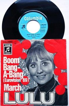 """Lulu """"Boom Bang-a-Bang"""" (1969) Eurovision Song Contest Winner for the UK"""