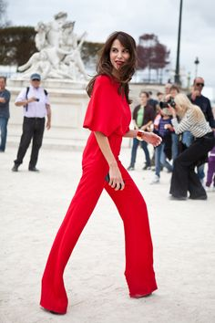 head to toe red