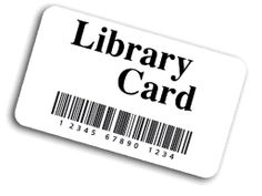 Library card pic