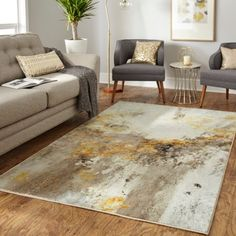 Cream And Gold Living Room, Silver Living Room, Living Room Grey, Living Room Modern, Rugs In Living Room, Living Room Decor, Grey And Gold Bedroom, Dining Rooms, Bedroom Decor