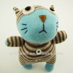 Google Afbeeldingen resultaat voor http://i01.i.aliimg.com/photo/v4/539989213/NO3NO4_cat_handmade_sockdoll_gift_NO8CA068_001A.jpg