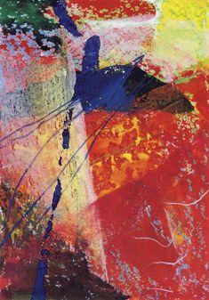 Gerhard Richter, Etna I, (28.1.1984), 41.8 cm x 29.6 cm, Aquarelle et crayon de couleur sur papier