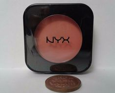 NYX High Definition Finishing Blush Pink The Town oz I Heart Makeup, Travel Size Makeup, Contour Palette, Body Glitter, No Foundation Makeup, Contour Makeup, Setting Powder, Nyx Cosmetics, Covergirl