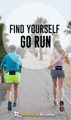 Running is easier with your Running Buddy™! This lightweight, belt-free pouch  can hold your running essentials like a smart phone, keys, ID, gels, and more! Purchase yours today at www.therunningbuddy.com