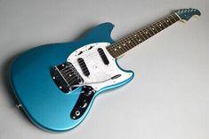 Blue Guitar, Lake Placid Blue, Mustang, Music Instruments, Type, Guitars, Mustangs, Musical Instruments, Mustang Cars