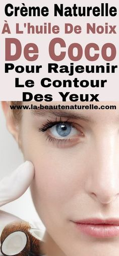 Natural cream with coconut oil to rejuvenate the eye area - Best Pins Beauty Tips For Face, Beauty Skin, Beauty Hacks, Diy Beauty, Milk Photography, Pageant Makeup, Eye Lift, Beauty Cream, Younger Looking Skin
