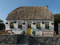 yellow door cottage - Innis Mor, Aran Islands, Ireland