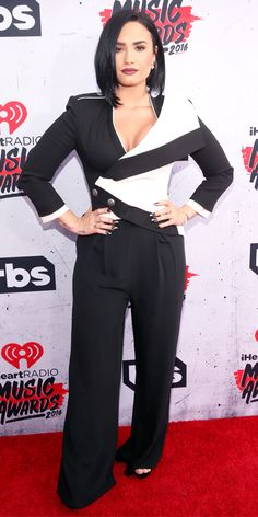 iHeartRadio Music Awards 2016 Best of the Red Carpet - Demi Lovato  - from InStyle.com