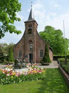 Church in Tilbury, Netherlands