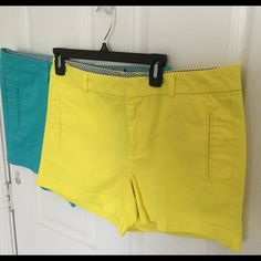 Sz 12 Stylus Summer Shorts Two great pair of fashionable summer shorts with colors sure to make you noticeable from any old average Joe.  The style is tasteful and in season Purchased last summer for $29.99 each--it appears I've duplicated my wardrobe! Like New! Shorts