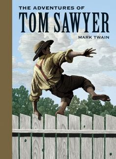 "Read ""The adventures of Tom Sawyer (Illustrated)"" by Mark Twain available from Rakuten Kobo. The Adventures of Tom Sawyer by Mark Twain is an 1876 novel about a young boy growing up along the Mississippi River. Free Books, Good Books, Books To Read, My Books, Huckleberry Finn, Audio Books For Kids, Childrens Books, Mark Twain, Hard Rock"
