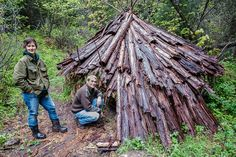 How to take Survival Cover in a Debris Hut: Knowing how to take cover could save your life when you're stuck in the wild!