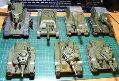 Genswick, Imperial Guard, Plasticard, Scratch Build, Tank, Warhammer 40,000