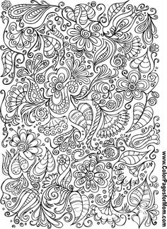 Doodle Coloring Page 106 from Coloringpagesformom.com