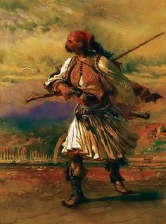 Carl Haag - Albanian Warrior