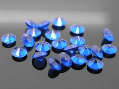 2,000pcs 10mm Royal Blue Acrylic Beads Confetti Wedding Reception Table Scatter Decoration