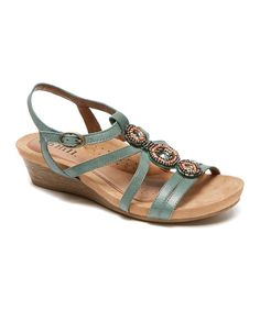 Take a look at this Teal Hannah Slingback Sandal today!