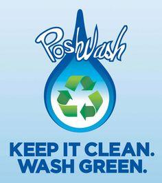 Posh Wash - Keep it Clean, Wash Green