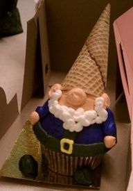 Want to Make Cupcake Decorating Idea ?:Best Gnome Cupcake Decorating Ideas Favorite Christ Cupcake Decorating Ideas