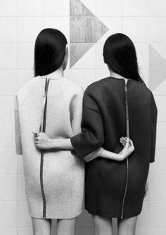 aphoticsouls: Yoo Ji Hyun and Moon Ju Yeon for ROCKET X LUNCH, edit by aphoticsouls