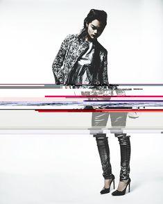 The Processing + The Glitch + The Lighting Design Art, Print Design, Graphic Design, Interior Design, New York, Editorial Design, Editorial Fashion, Identity, Glitch Art