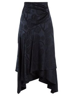 High-rise fluted satin skirt  | Peter Pilotto | MATCHESFASHION.COM US