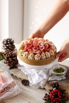 Holiday Appetizers, Appetizer Recipes, Dessert Recipes, Quiches, Cake Sandwich, Mousse, Salty Foods, Party Finger Foods, Home Baking