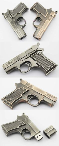 Gun USB Flash Memory Drive