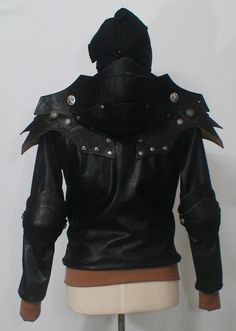 Dark Knight leather jacket for Milo https://www.etsy.com/listing/157518517/siriusblack-the-dark-knight-hoodie