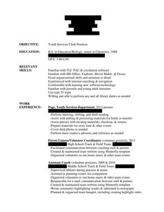For Public Review Unnamed Job Hunter Hiring LibrariansVolunteer Work On Resume Application Letter Sample