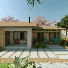 Casas de estilo rústico por C. Schirmer Estúdio de Arquitetura e Urbanismo