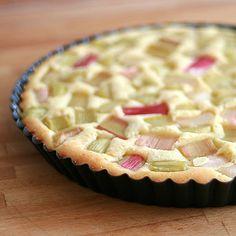 finnischer rhabarberkuchen - sieht nach easy peasy aus  finish rhubarb pie - looks really easy