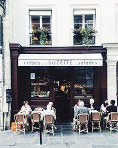Creperie Suzette - 5 minute walk from our hotel - Le Marais