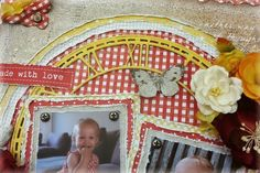 Made with Love Layout - by Amy