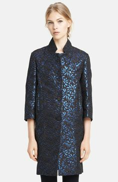 Marni Floral Jacquard Coat available at #Nordstrom
