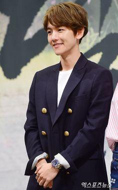 Baekhyun - 160824 'Scarlet Heart: Ryeo' press conference Credit: 엑스포츠뉴스…