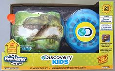 View-Master Discovery Kids 3D Viewer Gift Set Age Of Dinosaurs, 2015 Amazon Top Rated Viewfinders #Toy