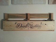 Pallet shelf the boyfriend made me :)