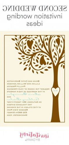 215 Best Wedding Invitation Examples Images In 2019