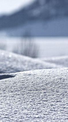 Winter In My Backyard #iPhone #6 #plus #wallpaper