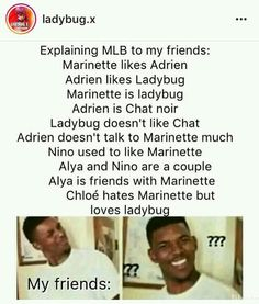 A big book of Miraculous memes. Come on, what kind of Miraculous Lady… # Náhodné # amreading # books # wattpad Ladybug And Cat Noir, Meraculous Ladybug, Ladybug Comics, Mlb, Miraculous Ladybug Fan Art, Miraculous Ladybug Fanfiction, Funny Memes, Hilarious, When Things Go Wrong