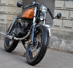 #cafe #racer #awesome #orange #MRF