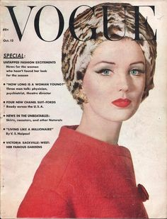 Vogue October 15 1961 - Ephemera Forever
