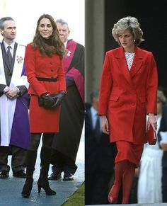 Kate and Diana: a style comparison
