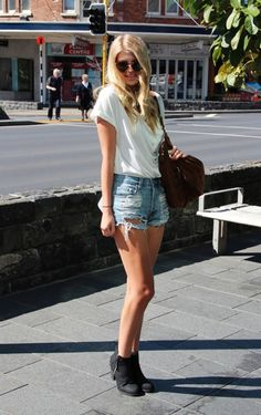 cute outfit. love the booties!