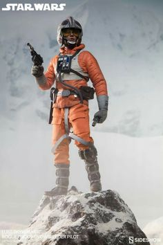 Luke SKYWALKER | Rogue Group | Snowspeeder Pilot | Poster | STAR WARS | Episode V : The Empire Strikes Back | Sideshow Collectibles Figures