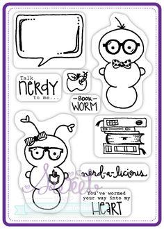 "Sweet Stamp Shop | ""Geek Chic"" Retired Set Released 2012"