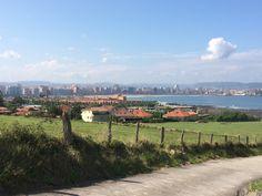 Gijón from Parque de El Rinconín