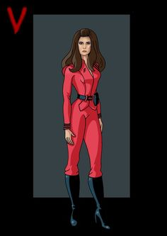 Diana by Gary Anderson Sci Fi Tv Series, Series Movies, Cartoon Tv, Girl Cartoon, Sci Fi Movies, Movie Tv, Faye Grant, V Tv Show, V Collection
